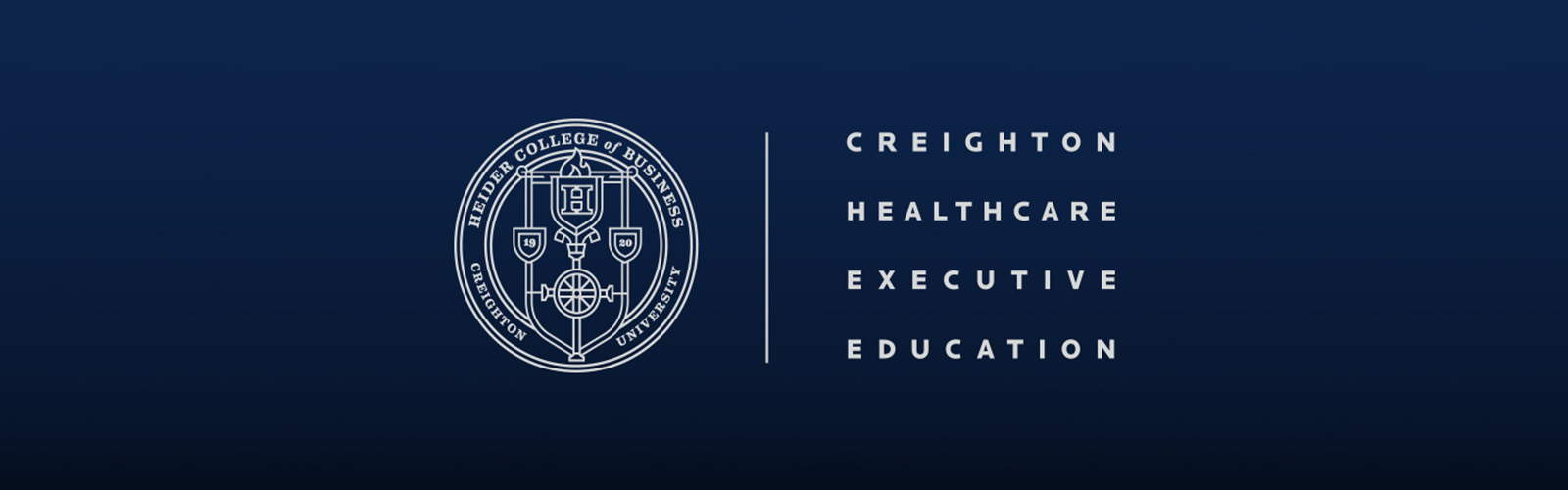 Creighton Healthcare Executive Education graphic