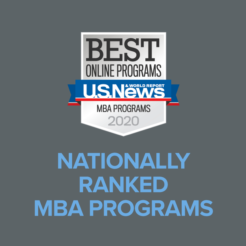 Nationally Ranked MBA Programs by U.S. News and World Report