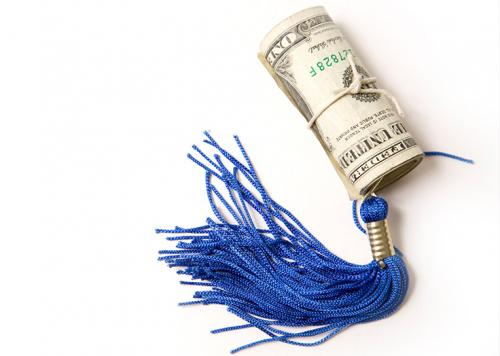 money and tassle
